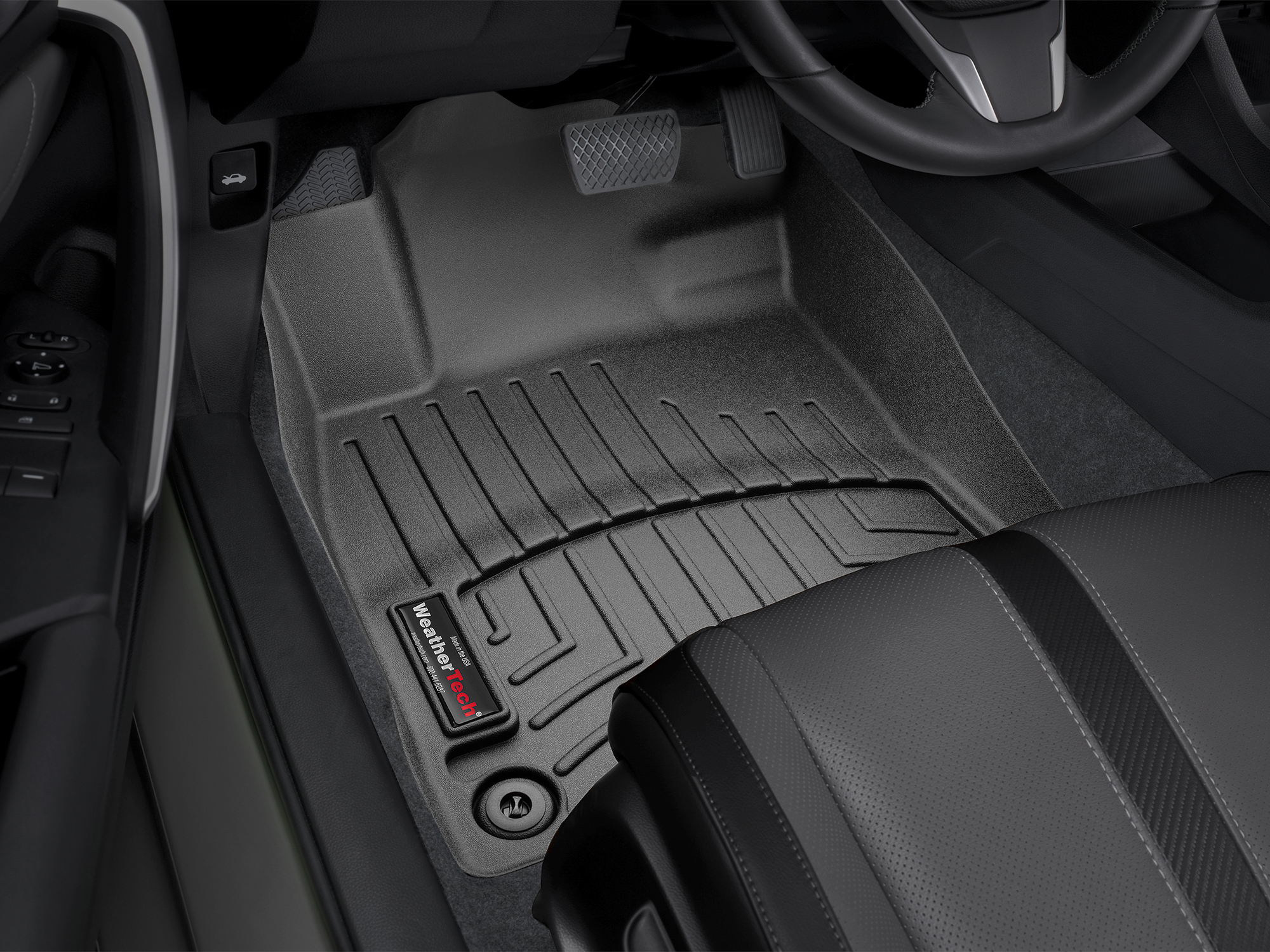 Custom Fit Laser Measured Floorliners Are Available For The 2017 Honda Civic Individual Availability Is Based On Your Vehicle S Options