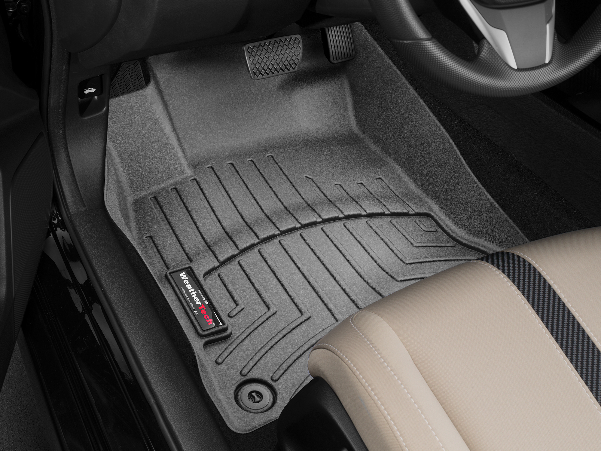 2017 Honda Civic Avm Hd Floor Mats Heavy Duty Flexible Trim To Fit Weathertech
