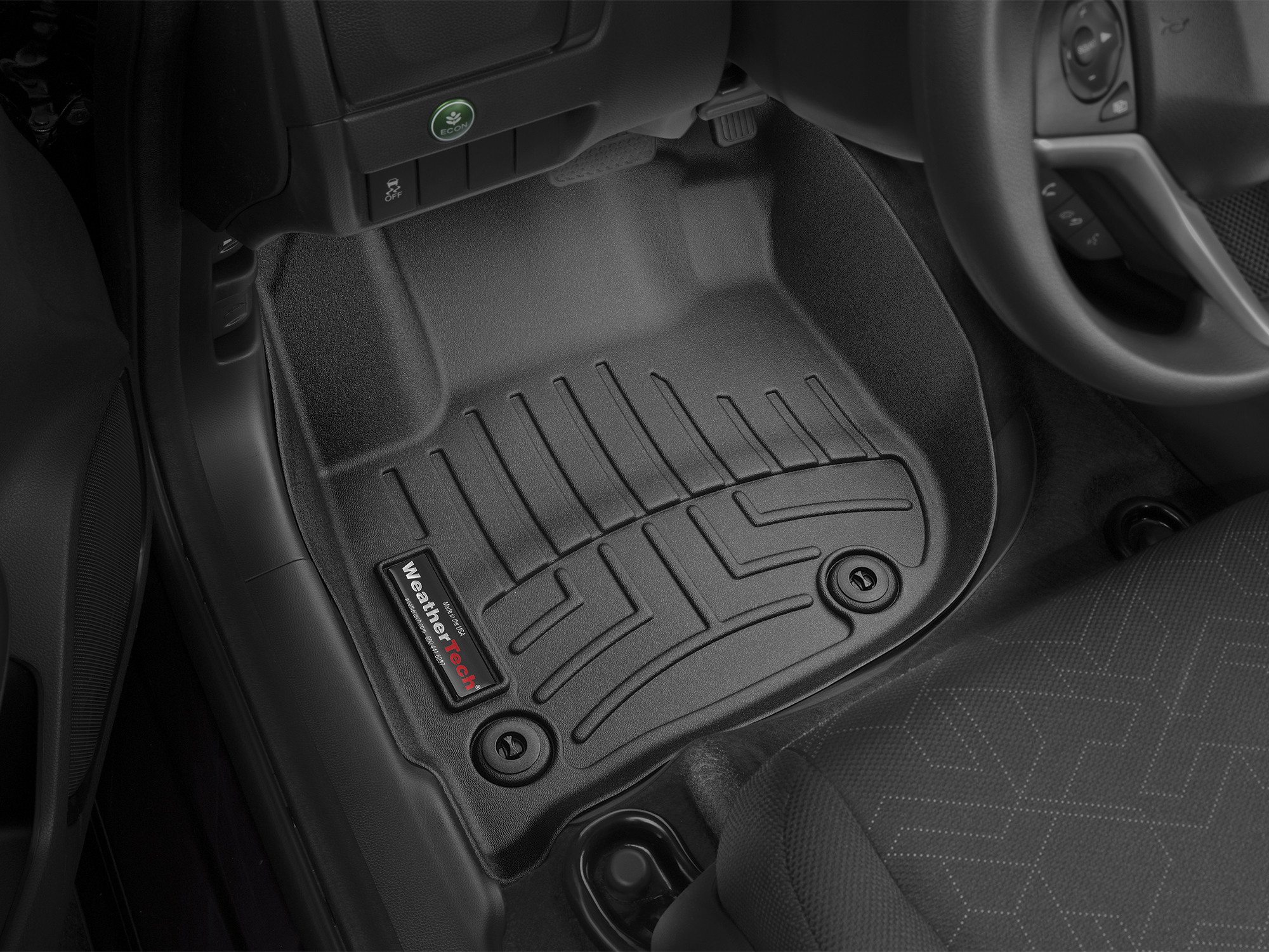 2018 Honda Fit | AVM HD Floor Mats   Heavy Duty Flexible Trim To Fit Mats |  WeatherTech