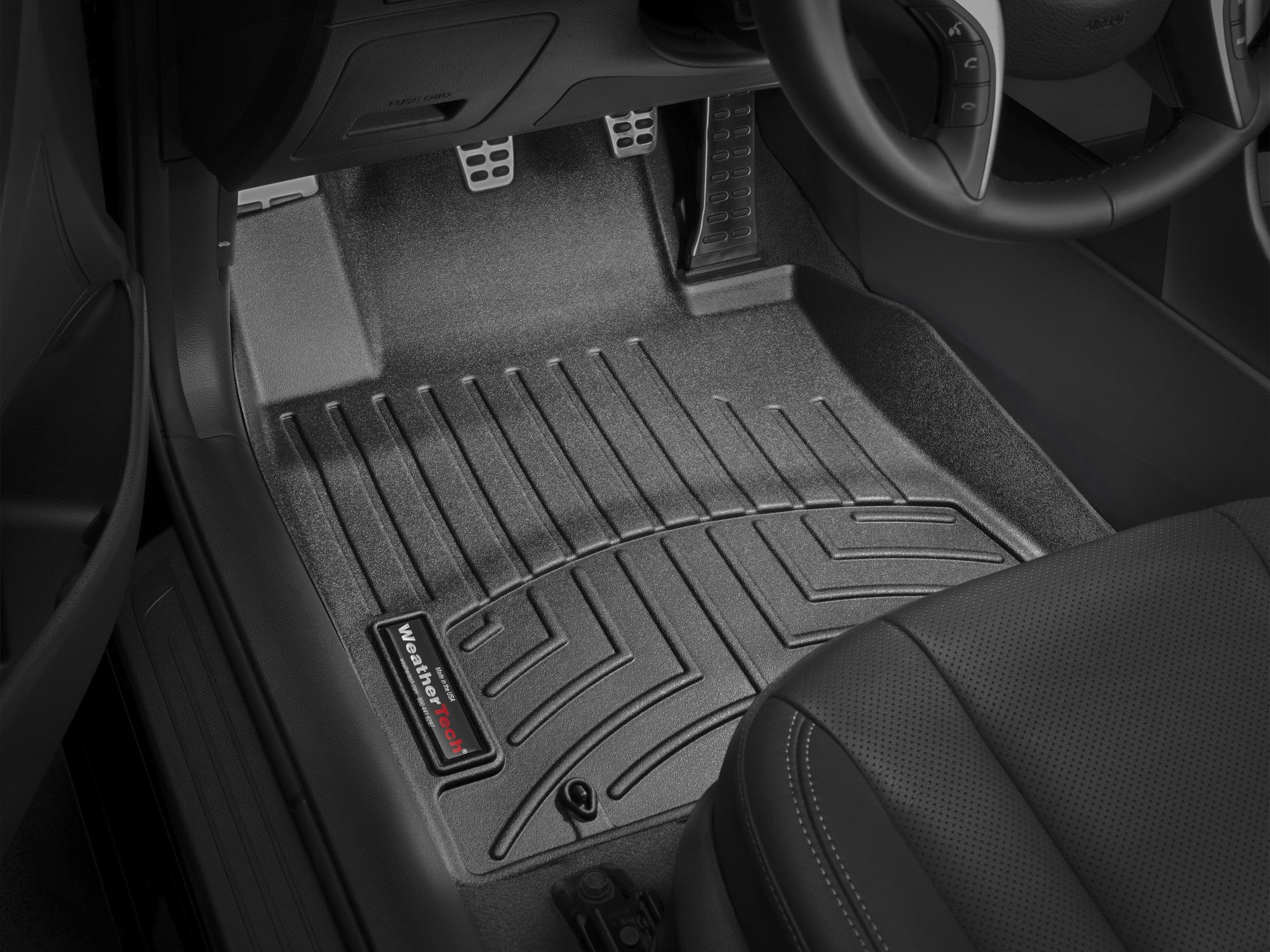 2017 Hyundai Elantra GT   AVM HD Floor Mats   Heavy Duty Flexible Trim To  Fit Mats   WeatherTech