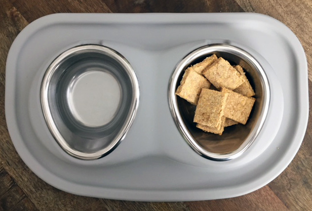 Homemade Peanut Butter Dog Treats In Bowl
