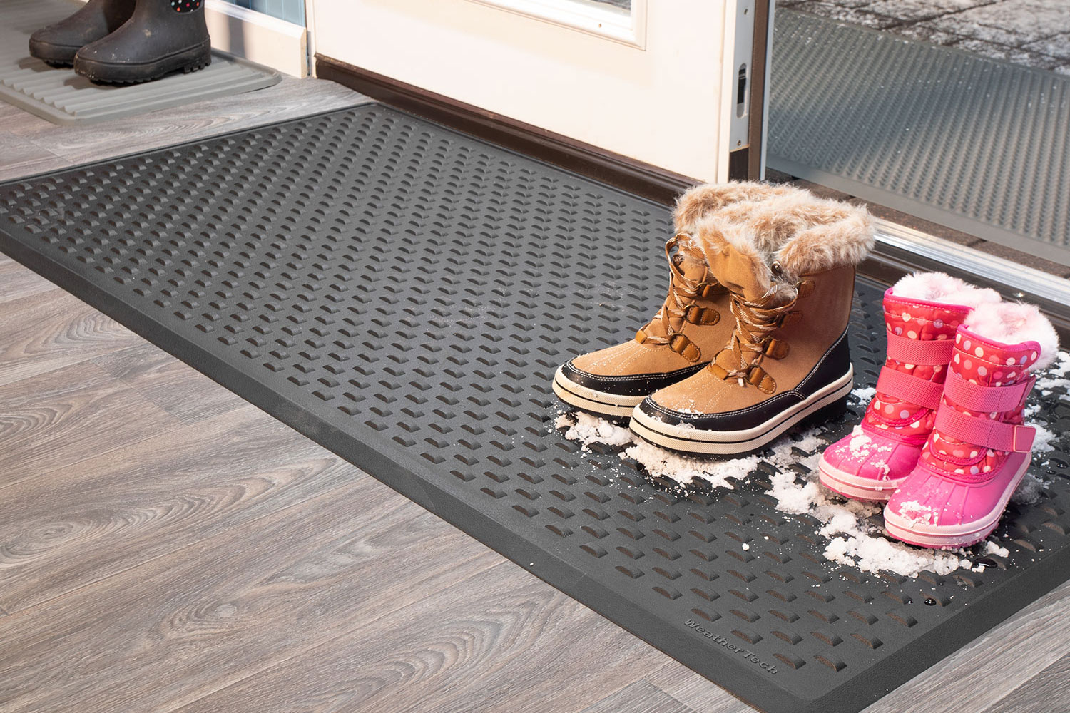 WeatherTech Indoor and Outdoor Door mats offer protection to your home and business far beyond your front or back door.