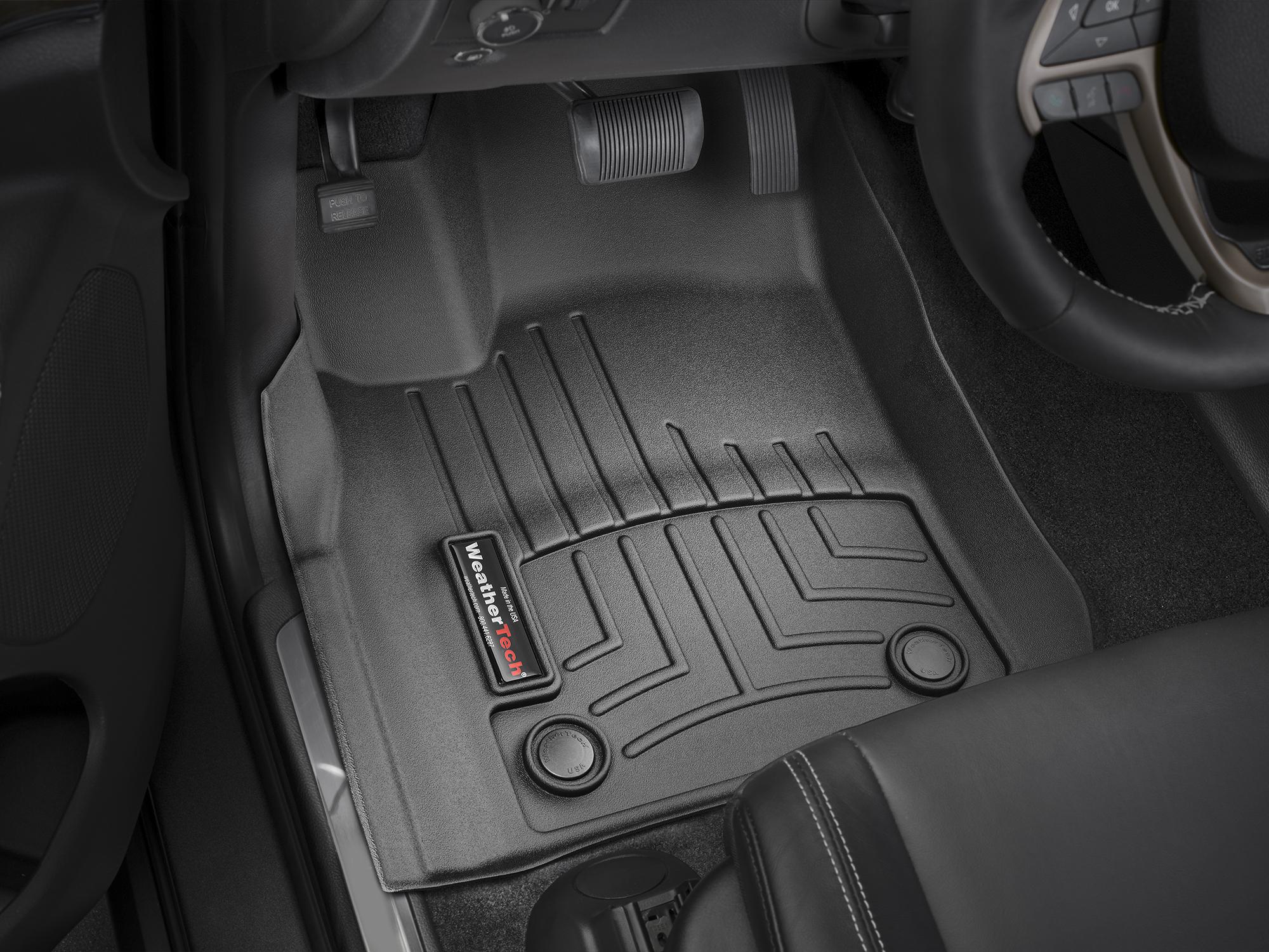 WeatherTech Car Mat FloorLiner for Grand Cherokee//Durango 1st//2nd Row Black