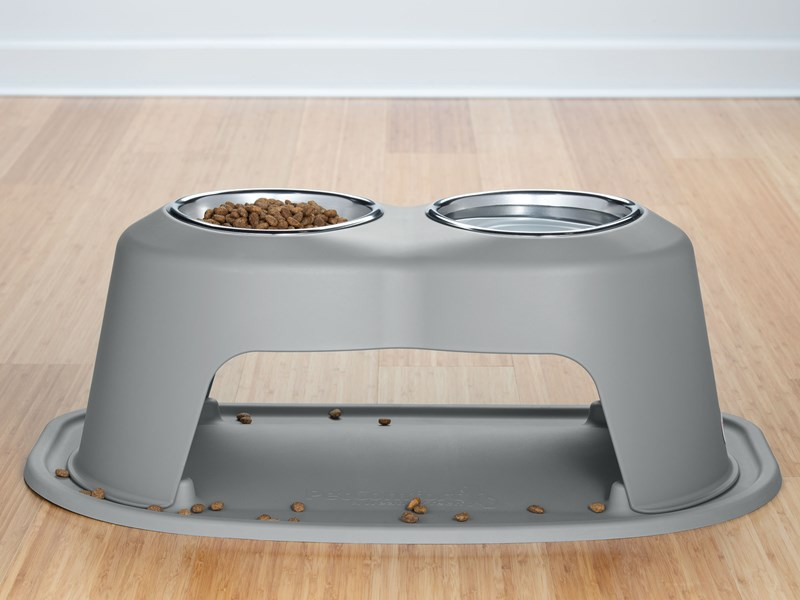 WeatherTech double high pet feeding system