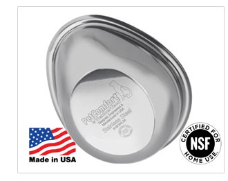PetComfort Pet Food Bowls are Certified for Home Use by the NSF.