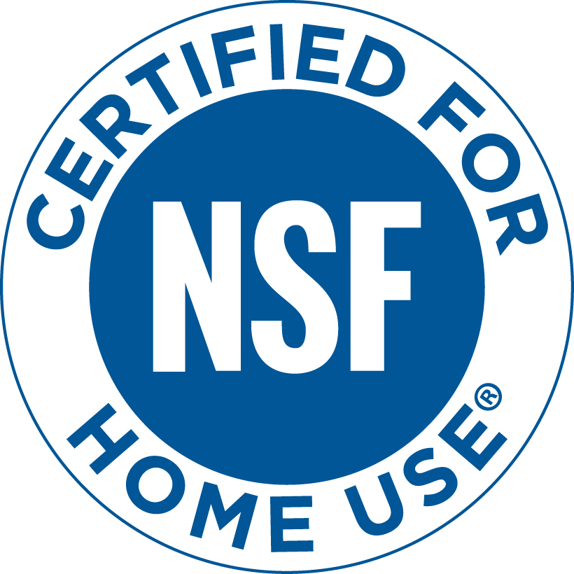 NSF Certified for home use icon.