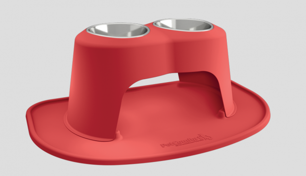 PetComfort Feeding System Red Bowl