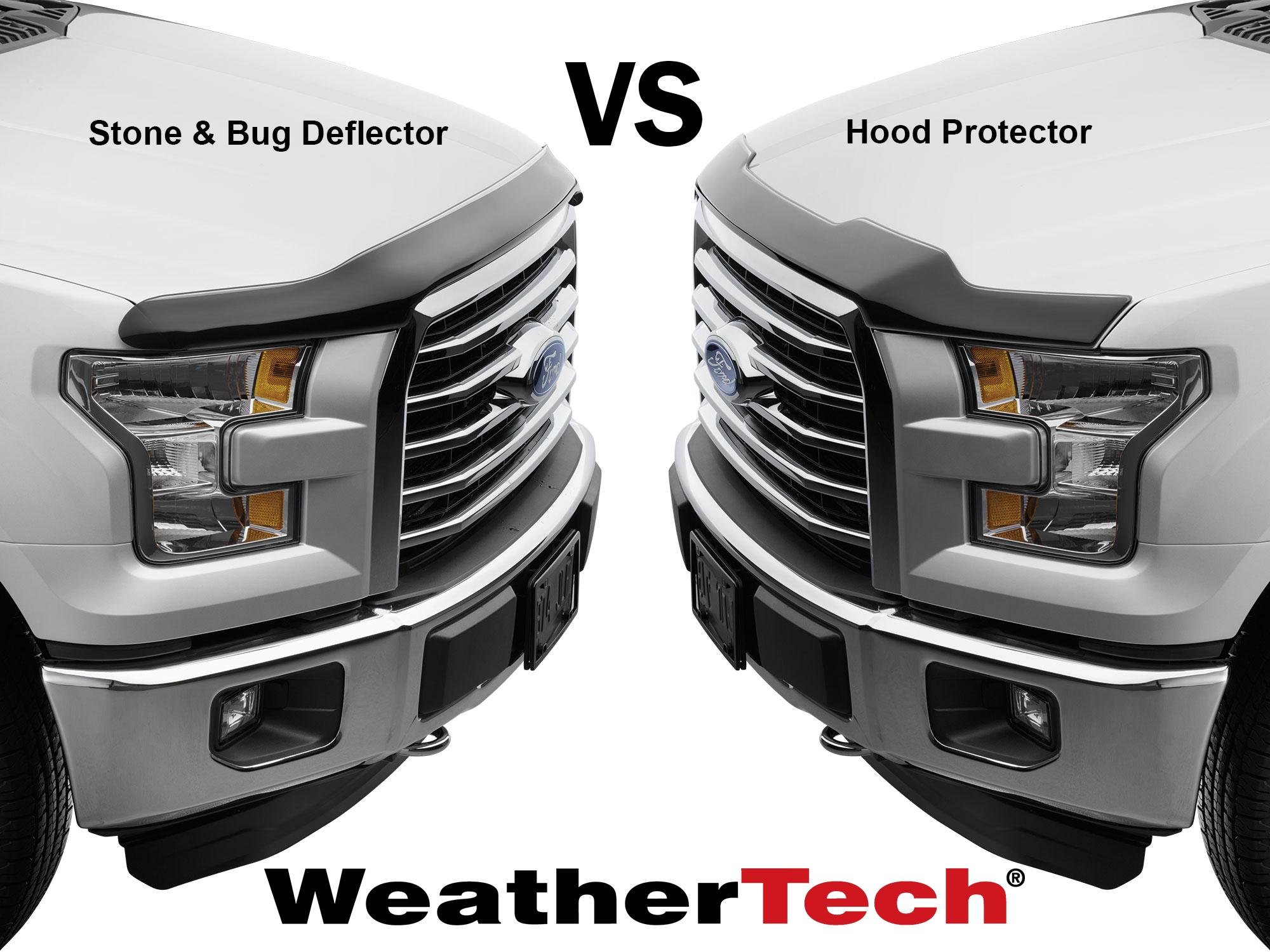 Stone & Bug Deflector vs. Hood Protector