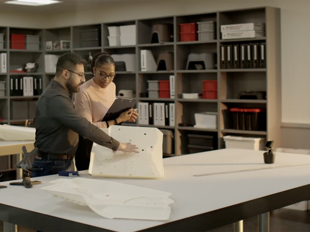 WeatherTech Product Designers hard at work.