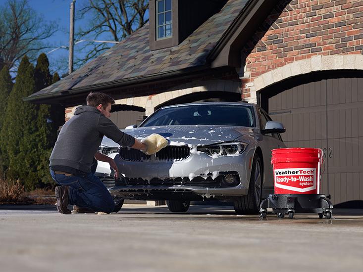 Washing_Car_in_Driveway