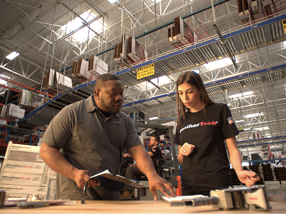 WeatherTech supports American workers.