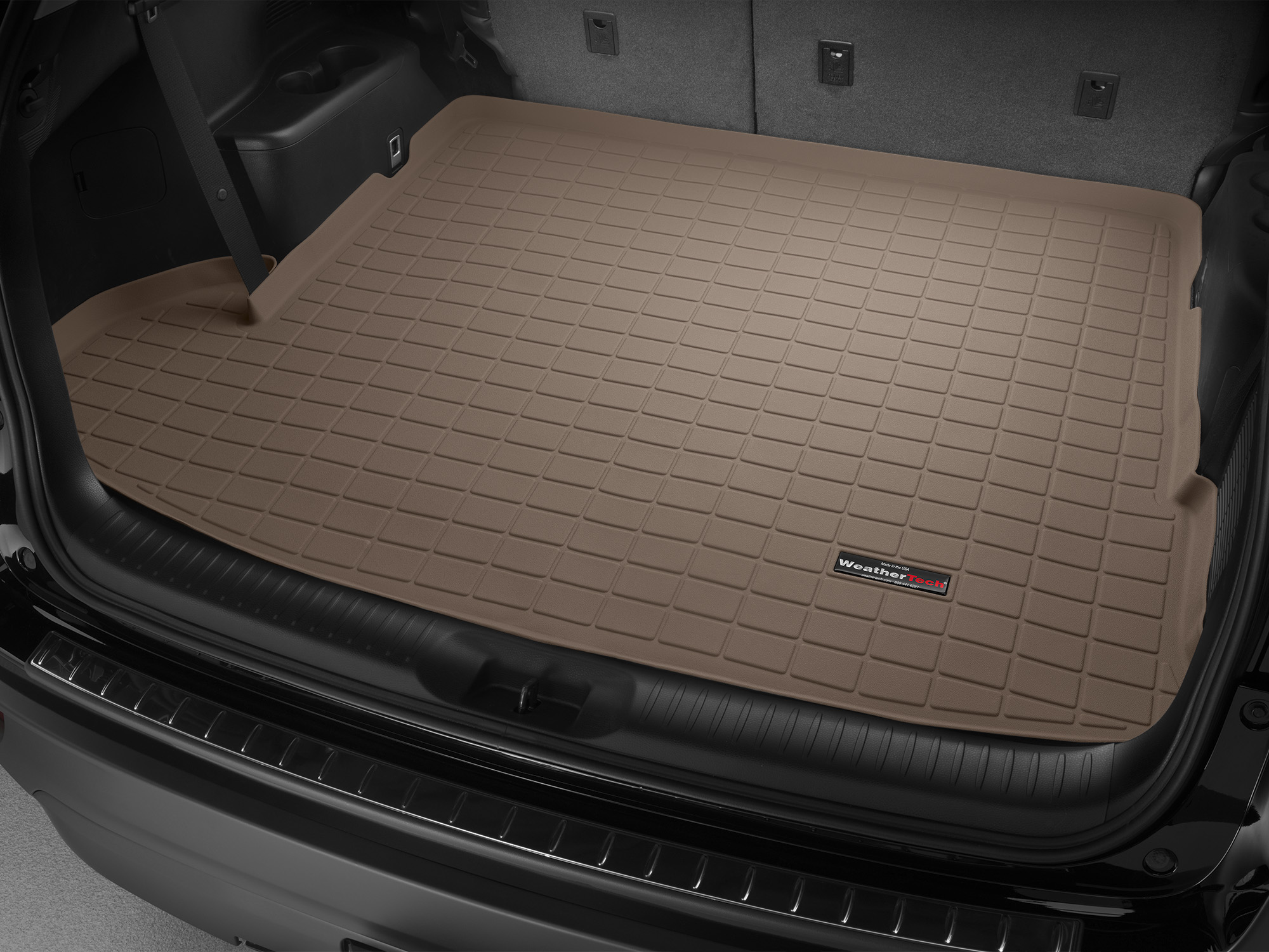 A Custom Fit Cargo Liner Is Available For Your 2017 Toyota Highlander