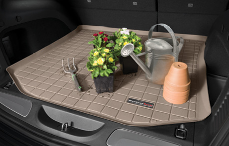 Cargo/Trunk Liners keep your vehicle's cargo/trunk area clean. Perfect for hauling spring projects.