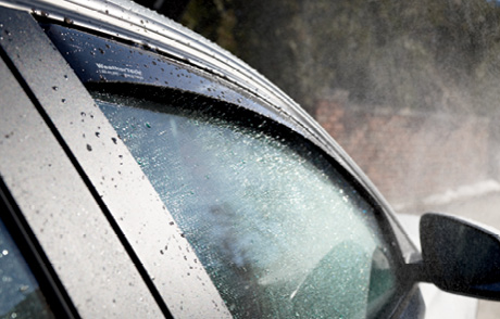 WeatherTech Side Window Deflectors, offer fresh air enjoyment with an original equipment look.