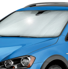 SunShade protects your vehicle's interior from harmful UV Rays.