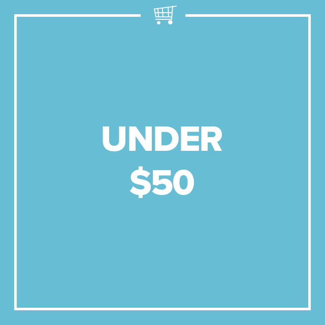 Image of text that says Under $50