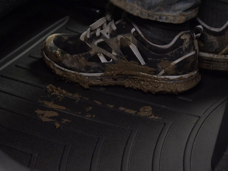 WeatherTech FloorLiners provide absolute interior protection to your vehicle's foot wells.