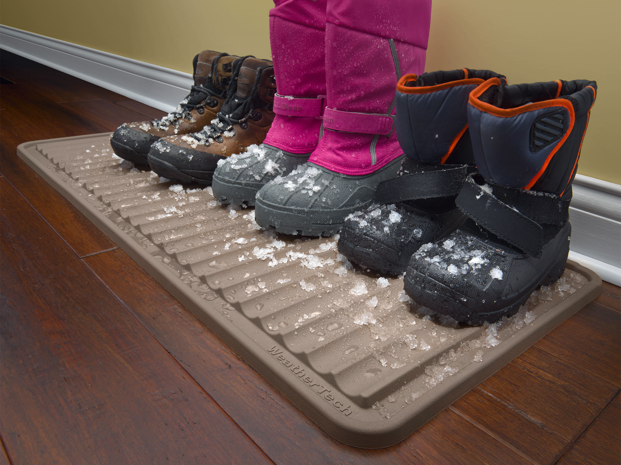 Boot Tray with boots