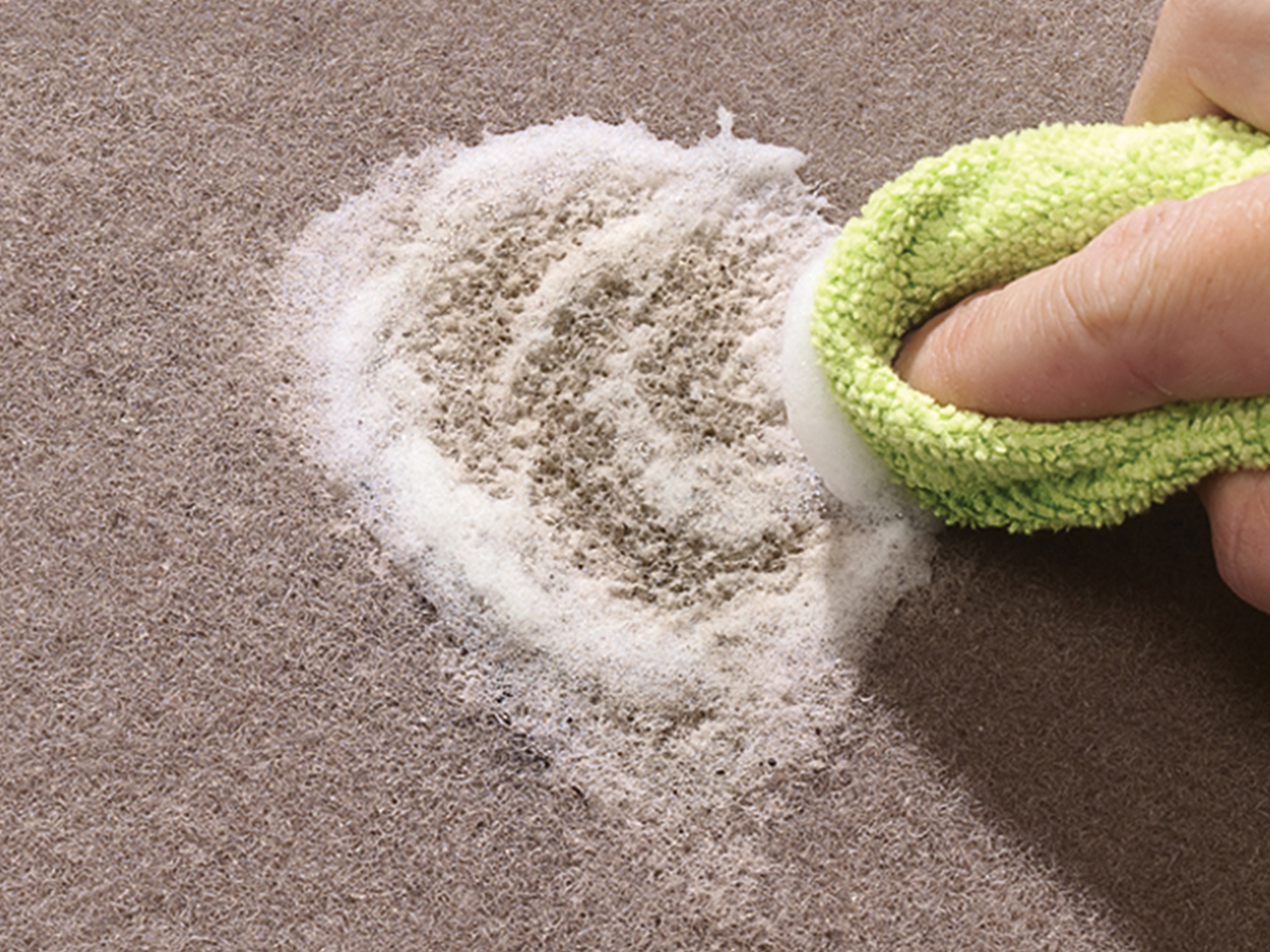 Carpet Cleaner with SpotTech quickly and easily removes stains from your automotive carpet, and helps prevent future stains.