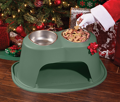 Double High Pet Feeding System