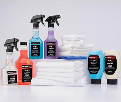 TechCare Exterior Wash & Wax Kit