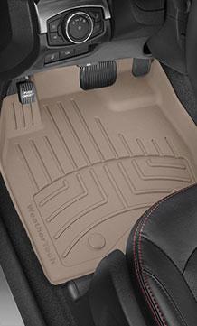 Floorliner HP installed in a vehicle.