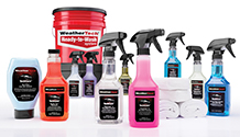 TechCare cleaning supplies.