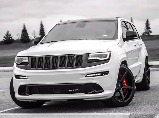 Motor City in a Jeep Grand Cherokee