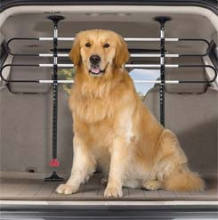 Pet Barrier installed in a SUV