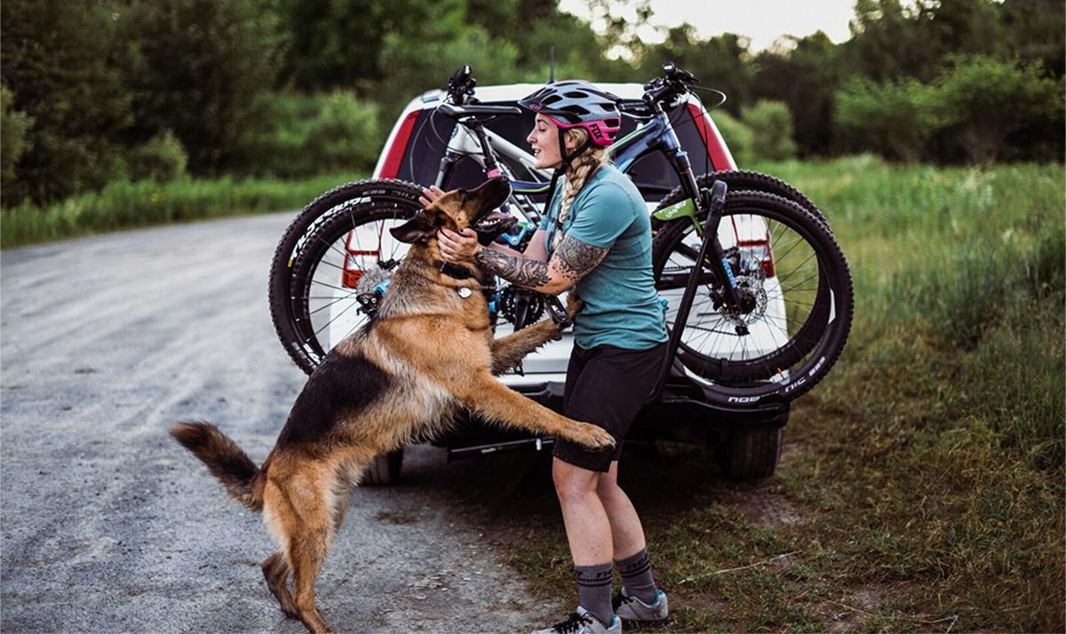Nicole and Bear the Dog