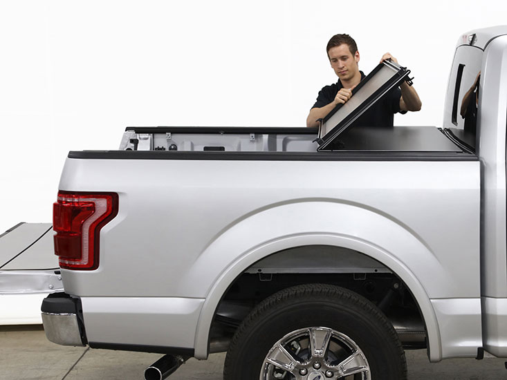 Before washing your tonneau cover, inspect hinges for any damage, corrosion or leaks.