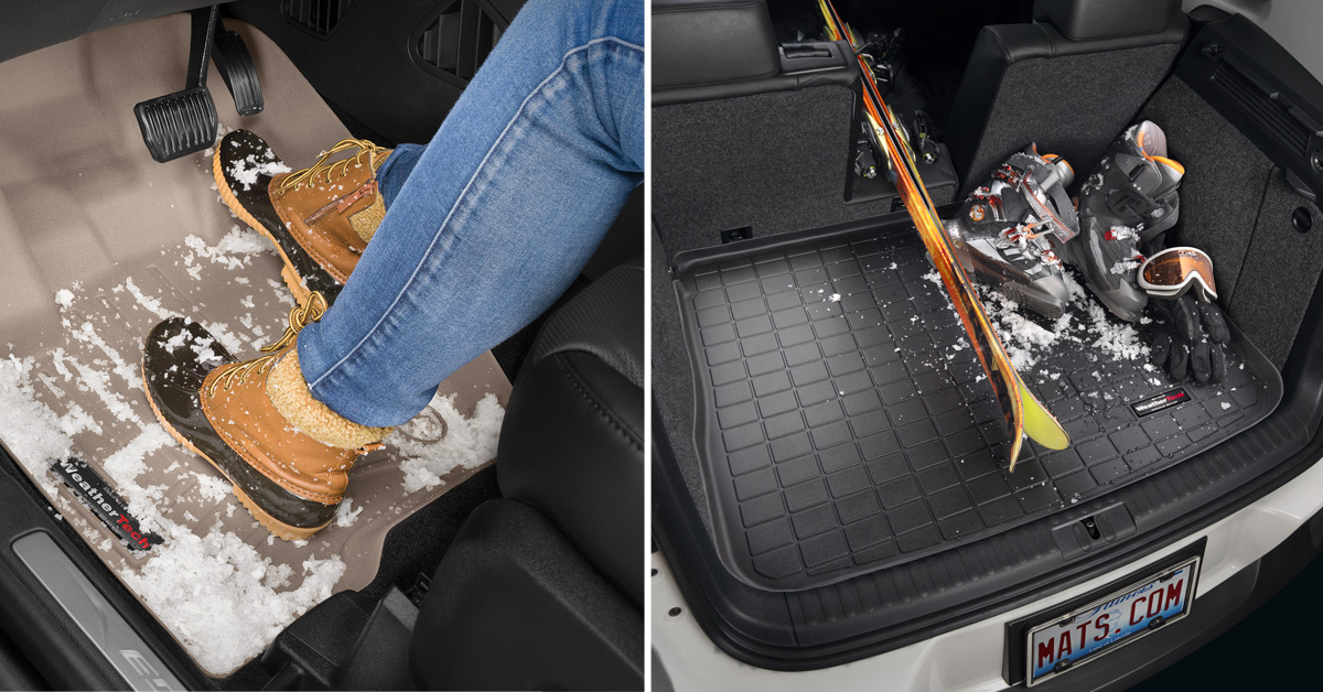 FloorLiners and Cargo Liners keep your vehicle's interior protected from winter messes.