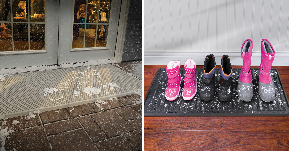 OurdoorMat, IndoorMat and BootTray protect